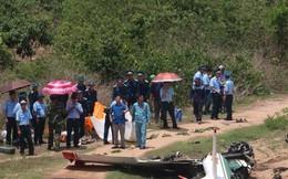 Cận cảnh rơi máy bay ở Khánh Hòa, 2 người tử nạn