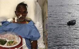 """Mắc kẹt trên biển 4 ngày không đồ ăn thức uống, người đàn ông 60 tuổi sống sót thần kỳ với """"bạn"""" là phao cứu sinh và đồng hồ Rolex"""