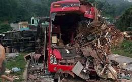 Vụ xe khách đấu đầu xe tải ở Hòa Bình: Chủ xe khách từng có xe đâm đám tang