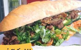 """Ở Mỹ, mọi món ăn đều có phiên bản """"siêu to khổng lồ"""" và bánh mì Việt Nam cũng không ngoại lệ"""