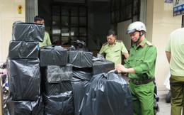 Bắt giữ hàng chục nghìn gói thuốc lá ngoại nhập lậu