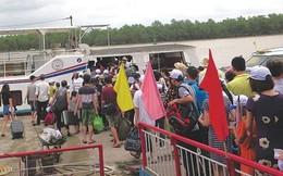 """Bão số 2: Quảng Ninh cấm tàu ra đảo, gần 2 nghìn người """"kẹt"""" ở Cô Tô"""