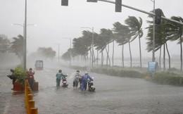 Bão số 2: Hà Nội nhiều quận huyện mưa lớn, vùng ven biển các tỉnh gió giật cấp 6 - 7