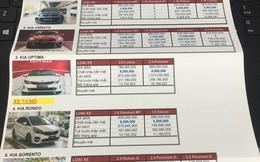 Hàng loạt mẫu xe Kia bán dưới giá niêm yết tại đại lý trong tháng Ngâu, cao nhất 20 triệu đồng