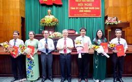 Công bố Quyết định của Ban Bí thư Ban Bí thư về công tác cán bộ