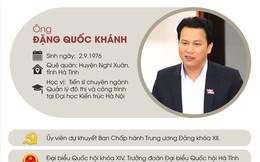 Infographic: Chân dung tân Bí thư Tỉnh ủy Hà Giang Đặng Quốc Khánh