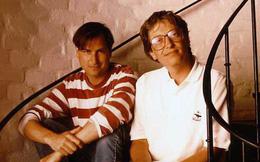 """Bill Gates gọi Steve Jobs là """"gã khốn"""" có tài """"yểm bùa"""" nhân viên làm việc nhiều giờ liền và mê hoặc khách hàng trên toàn thế giới"""