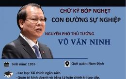 Infographic: Hàng loạt sai phạm nghiêm trọng của nguyên Phó Thủ tướng Vũ Văn Ninh