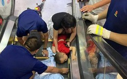 """Nút """"Dừng khẩn cấp"""" của thang cuốn nằm ở đâu? Nhiều người đi cả tỷ lần rồi vẫn không biết, đến khi sự cố xảy ra không ứng phó kịp"""