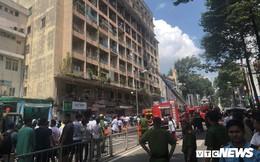 Cháy ký túc xá sát bệnh viện, hàng chục bệnh nhân phải sơ tán khẩn cấp
