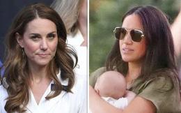 """Lần đầu hé lộ mối thù giữa hai nàng dâu hoàng gia nhen nhóm từ món quà """"vô duyên"""" mà Meghan Markle tặng chị dâu Kate"""