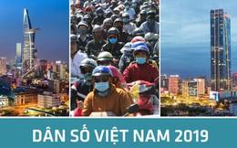 [Infographic] - Dân số Việt Nam gần 100 triệu người, đứng thứ 3 Đông Nam Á, 15 thế giới