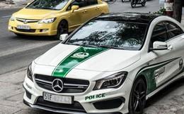 Xe Việt dán tem cảnh sát UAE phải gỡ bỏ