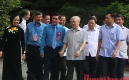 Tổng Bí thư, Chủ tịch nước Nguyễn Phú Trọng gặp mặt cán bộ Công đoàn tiêu biểu