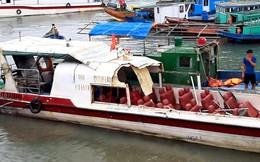 Tàu cao tốc chở 46 du khách bị tàu cá đâm ở Vân Đồn