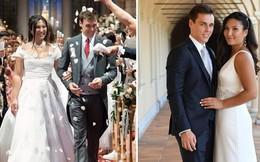 Cô gái gốc Việt kết hôn với cháu trai Công nương Grace Kelly: Cô dâu Hoàng gia diện 3 bộ váy cưới đơn giản nhất từ trước đến giờ