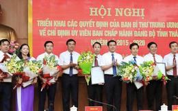 Ban Bí thư chỉ định 8 uỷ viên Ban chấp hành Đảng bộ tỉnh Thái Bình