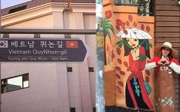 Giữa lòng thủ đô Seoul (Hàn Quốc) có một con phố mang tên Việt Nam Quy Nhơn, ở ngay gần Cộng Cà phê