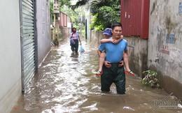 Cảnh khó tin của hàng trăm hộ dân Hà Nội sau 3 ngày mưa bão