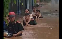 Mưa lớn kéo dài, Đắk Lắk ngập lụt diện rộng