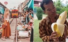 """Du lịch Thái Lan và 20 điều khiến du khách """"té ngửa"""": Chợ giữa đường ray là bình thường, chuối khổng lồ cũng không phải chuyện lạ!"""
