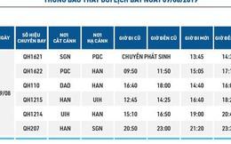 Sân bay Phú Quốc tạm đóng cửa, 74 chuyến bay ảnh hưởng