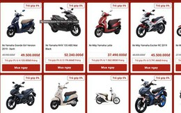 Nở rộ bán xe máy trên mạng