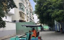 Chung cư nghiêng - 518 Võ Văn Kiệt, quận 1 phát ra tiếng động lớn