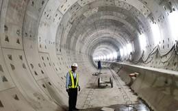 Cận cảnh đường hầm Metro số 1 dưới lòng Sài Gòn