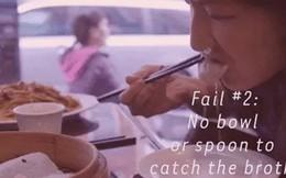 """Tín đồ ẩm thực Trung Hoa nhất định phải biết cách ăn Tiểu Long Bao chuẩn, """"sang"""" này"""