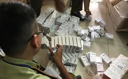 Đang khám xét căn nhà chứa tân dược ngoại nhập lậu số lượng 'khủng' ở Sài Gòn