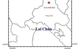 Động đất 3,8 độ richter ở Phong Thổ, Lai Châu