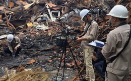 Vụ cháy Rạng Đông: Trường ĐH Khoa học Tự nhiên không có nguy cơ ô nhiễm thủy ngân