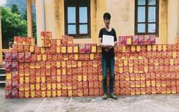 Phát hiện 13 tấn pháo ngụy trang hành tây Trung Quốc