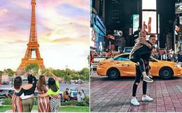 Tò mò những địa điểm được check-in nhiều nhất trên Instagram hiện tại: Tháp Eiffel của Pháp dẫn đầu với gần 6 triệu hashtag