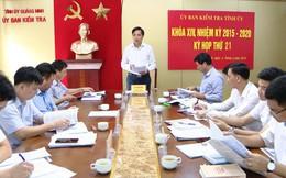 Quảng Ninh khai trừ khỏi Đảng nguyên Phó Giám đốc Ban Quản lý dự án