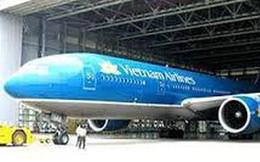 Phát hiện xác chim trên mũi bị hóp của máy bay Vietnam Airlines