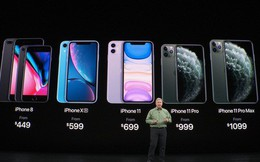 iPhone XS/XS Max và iPhone 7/7 Plus chính thức bị Apple khai tử