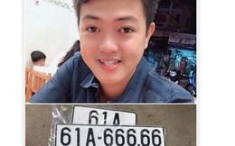 """Giữa tâm """"bão mạng"""", chủ xe hơi bốc được số 61A 666.66 trao đổi riêng với Báo Người Lao Động"""