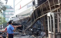 Hải Phòng: Hỏa hoạn thiêu rụi, siêu thị điện máy Hoàng Gia trơ khung