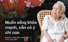 """Bí quyết từ """"người mẹ vĩ đại"""" 102 tuổi của NSND Đặng Thái Sơn: Thể dục, thiên nhiên, nước muối... và mỹ phẩm"""