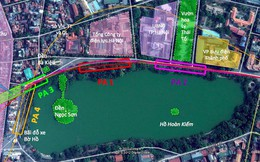Tiếp tục lấy ý kiến hai bộ về vị trí ga ngầm tại khu vực hồ Hoàn Kiếm