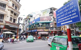 Hà Nội định cấm ô tô, xe máy quanh hồ Gươm trong 1 tháng