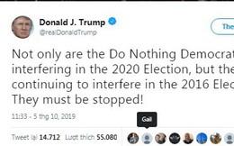 Áp lực bủa vây, ông Trump 'tố ngược' đảng Dân chủ can thiệp vào bầu cử 2016 và 2020