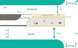 Hà Nội: Rào chắn một chiều đường Kim Mã khiến giao thông hỗn loạn