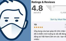 """AirVisual trở lại sau vài ngày """"bay màu"""", dân mạng Việt đua nhau chấm 5 sao và bình luận khen nức nở"""