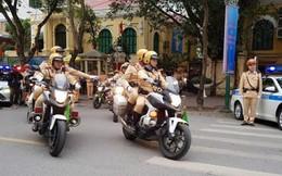 Công an Hà Nội tung quân trước trận đấu Việt Nam - Malaysia