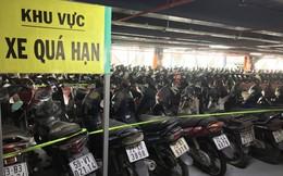 Hàng trăm xe máy 'nằm vạ' nhiều năm ở sân bay Tân Sơn Nhất
