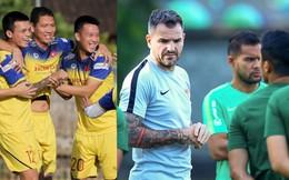 Hình ảnh trái chiều về tinh thần của tuyển Việt Nam và Indonesia trên đảo Bali: Một phía rệu rã, một bên khí thế hừng hực
