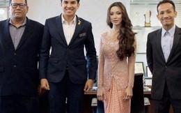 Người đẹp bí ẩn đứng cạnh bộ trưởng trẻ nhất Malaysia là ai?